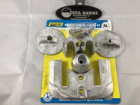 $38.99 Seachoice 95081 MerCruiser Bravo III Anode Kit Aluminum: For Salt And Brackish Water ** IN STOCK & READY TO SHIP!