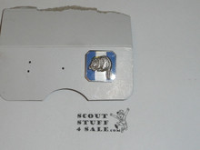 Silver Beaver Award Lapel Pin / Tie Tack, 1960's, Stange Hallmark, SILVER