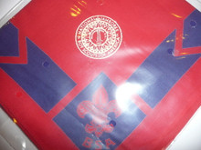 1937 National Jamboree Red Leader Neckerchief, Full Square