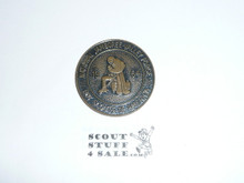 1964 National Jamboree Coin / Token, Bronze Color