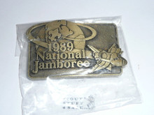 1989 National Jamboree Belt Buckle, Bronze color