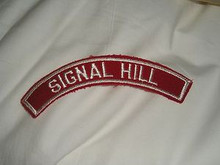 SIGNAL HILL Red/Wht Community Strip - Scout