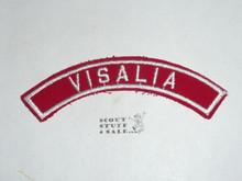 VISALIA Red/White Boy Scout Community Strip