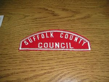 Suffolk County Council Red/White Council Strip - Scout
