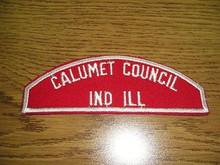 Calumet Council Red/White Council Strip - Scout
