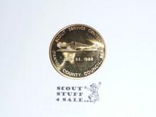1986 Orange County Council Scout Service Center Coin / Token