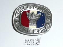 Eagle Scout Belt Buckle, Enameled, PERFECT EAGLE SCOUT GIFT