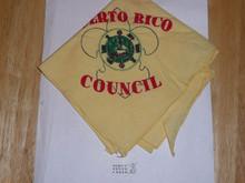 Old Puerto Rico Council Neckerchief - Boy Scout