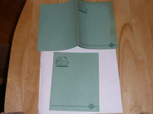 1930's Official Girl Scout Stationary - 3 pieces