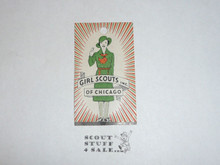 1930's Girl Scouts of Chicago Hang tag