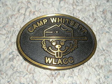 1990's Camp Whitsett Bronze Belt Buckle - Scout