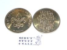 Boy Scout Good Turn Coin / Token, Tenderfoot emblem