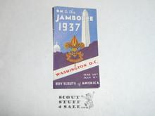 1937 National Jamboree Gummed Seal #2