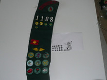 1960's Girl Scout Sash