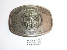 Law Enforcement Explorer Belt Buckle