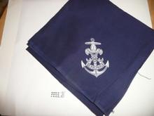 Sea Scout Neckerchief, full square, 1930's