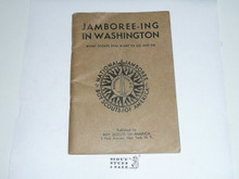 1937 National Jamboree Jamboree-ing in Washington What Scouts Will Want to See and Do Book