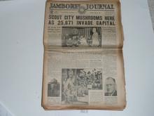 1937 National Jamboree Complete Set of Jamboree Journal Newspapers