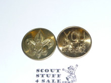 """Boy Scout """"You Make the Difference"""" Coin / Token"""