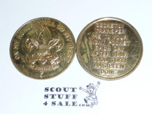Boy Scout Good Turn Coin / Token, 1st class emblem