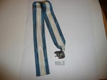 Silver Beaver Award, 1950's, MINT condition, no box, Robbins Hallmark, Sterling