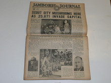 "1937 National Jamboree ""Jamboree Journal"" Newspaper for June 29 (Tuesday)(first Day)"