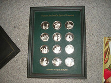 Norman Rockwell's Spirit of Scouting 12 Silver Coin/medal Set from the 1970's