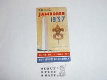 1937 National Jamboree Gummed Seal