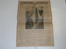 "1937 National Jamboree ""Jamboree Journal"" Newspaper for July 4 (Sunday"