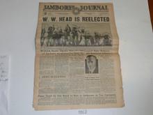 "1937 National Jamboree ""Jamboree Journal"" Newspaper for July 3 (Saturday)"
