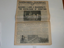 "1937 National Jamboree ""Jamboree Journal"" Newspaper for July 2 (Friday)"