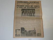 "1937 National Jamboree ""Jamboree Journal"" Newspaper for July 1 (Thursday)"