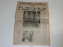 """1937 National Jamboree """"Jamboree Journal"""" Newspaper for June 30 (Wednesday)"""