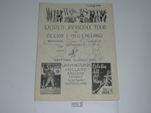 1937 National and World Jamboree Region 1 Promotional Brochure