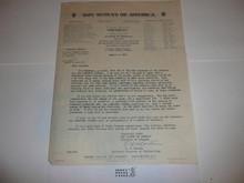 1937 National Jamboree Brochure for bound copies of the Jamboree Journal