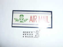 Girl Scout Air Mail Gummed Seal