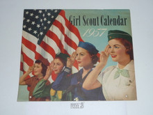 1957 Girl Scout Calender