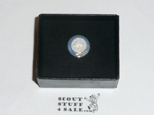 2010 Sterling Silver Beaver Lapel Pin, 100 Year Anniversary