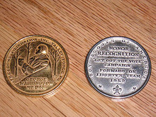 2 Rare Boy Scout Coins from 1952