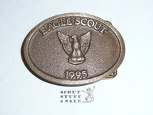 1995 Eagle Scout MAX SILBER Belt Buckle