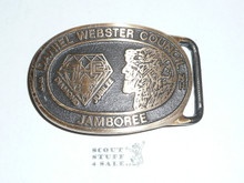 Daniel Webster Council 75th BSA MAX SILBER Belt Buckle