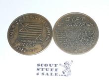 1976 Boy Scout Bicentennial Gift Coin / Token