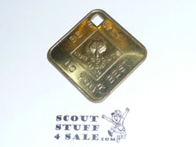 Cub Scout Promise, BSA and square hole, Coin / Token