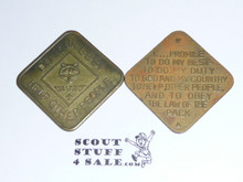 Cub Scout Promise, No BSA, Coin / Token