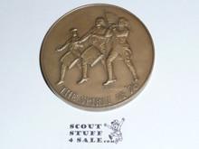 1976 Boy Scouts of America Bicentennial Commemorative Heavy Coin / Token