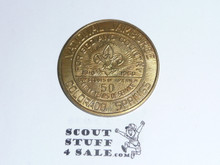 1960 National Jamboree Coin / Token Gold Color