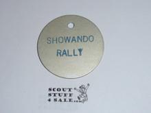 Aluminum Showando Rally Coin / Token
