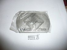 National High Adventure Award Belt Buckle, new in bag