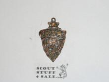 Bronze Boy Scout Medal Pendant