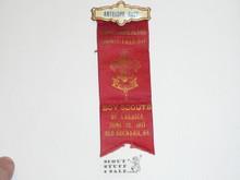1917 Boy Scout Antelope Race Award Ribbon